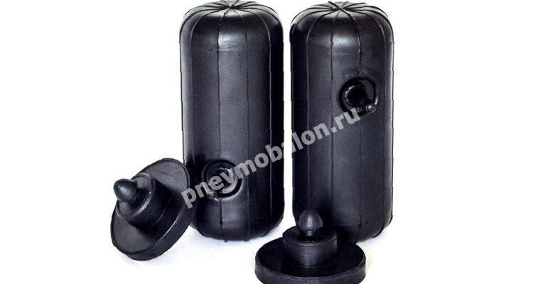 Усиленные пневмобаллоны в пружины Шевроле Авео, Круз 8 мм