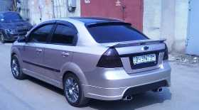 Задний бампер (седан) Chevrolet Aveo T300 2011- cvave11641 Bodyparts. Продажа оптом и в розницу.