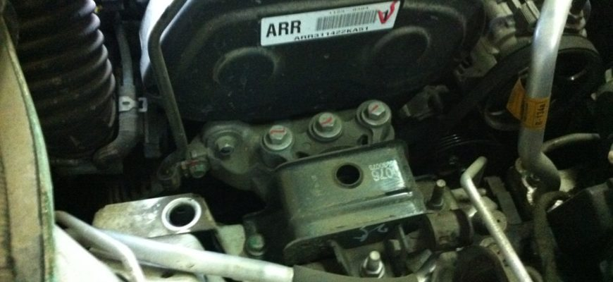Шевроле авео дергается на холодном двигателе