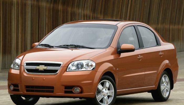 Клиренс Chevrolet Aveo T300