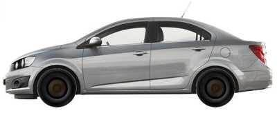 Купить дневные ходовые огни Авео Т300 штатные ДХО Chevrolet Aveo