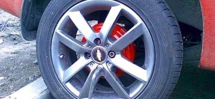 Как поменять задний тормозной цилиндр на Chevrolet Aveo   Пособие автомобилиста