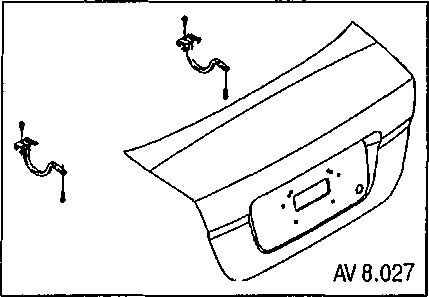 Замена троса багажника Chevrolet Aveo 5 (Шевроле Авео 5) - автосервис Chevrolet