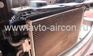 Замена радиатора кондиционера Шевроле Авео 1 — 2 по цене от 2000 р., в Москве ЮАО