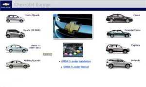 Chevrolet Europe Service Manual