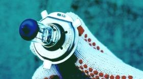 Замена лампочки противотуманки ЗАЗ Вида (Шевроле Авео Т250)