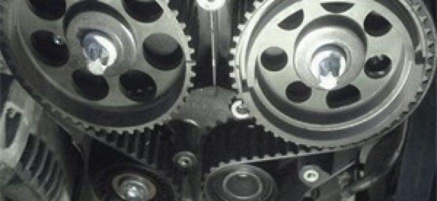 Замена ремня ГРМ на Авео, Лачетти 1,4-1,6 литра с 16 клапанов