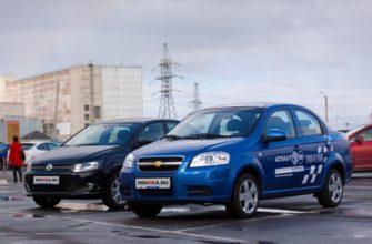 Сравнение Chevrolet Aveo и Volkswagen Polo по характеристикам, стоимости покупки и обслуживания. Что лучше - Шевроле Авео или Фольксваген Поло