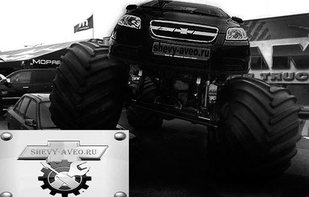 Размеры шин и дисков для Chevrolet Aveo