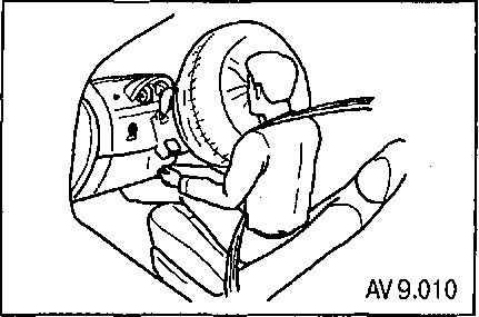 Chevrolet Aveo | Подушка безопасности (SRS) | Шевроле Авео
