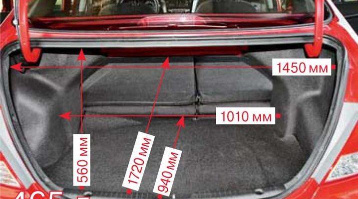 Объем багажника Шевроле Авео: размеры багажника Chevrolet Aveo