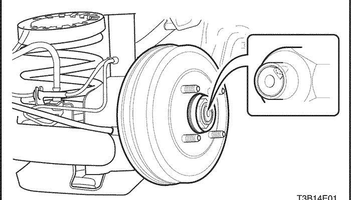 Что делать если не снимается задний тормозной барабан с шевроле авео