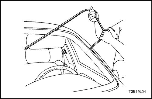 Chevrolet Aveo   Обогрев заднего стекла   Шевроле Авео