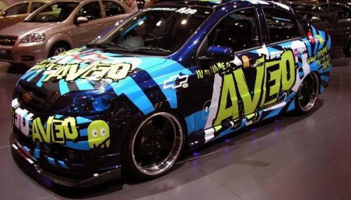 Тюнинг Chevrolet Aveo T250 2006-2012, купите в магазине ОбвесМаг