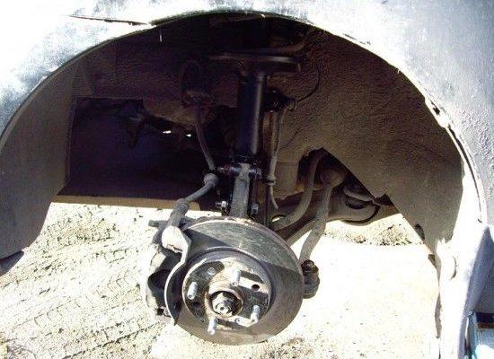 Замена амортизатора Chevrolet Aveo T300 — Автомобильный журнал
