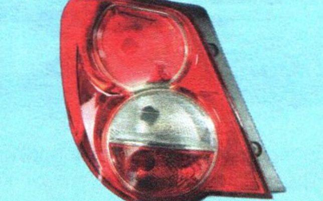 Замена ламп заднего фонаря в Шеврое Авео Т300: описание