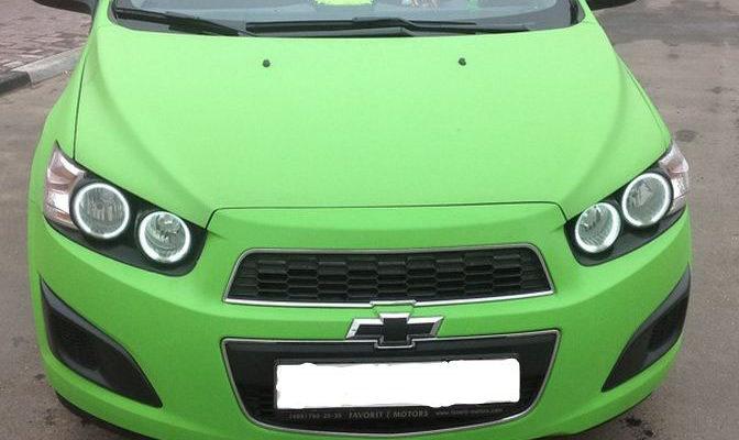 Ангельские глазки на Шевроле Авео Т300 12г (Chevrolet aveo) купить