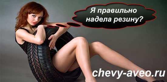 Шины, диски на Шевроле Авео (Chevrolet Aveo)