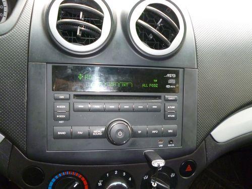 Распиновка разъема штатной магнитолы Chevrolet, 2 DIN 1 DIN схемы